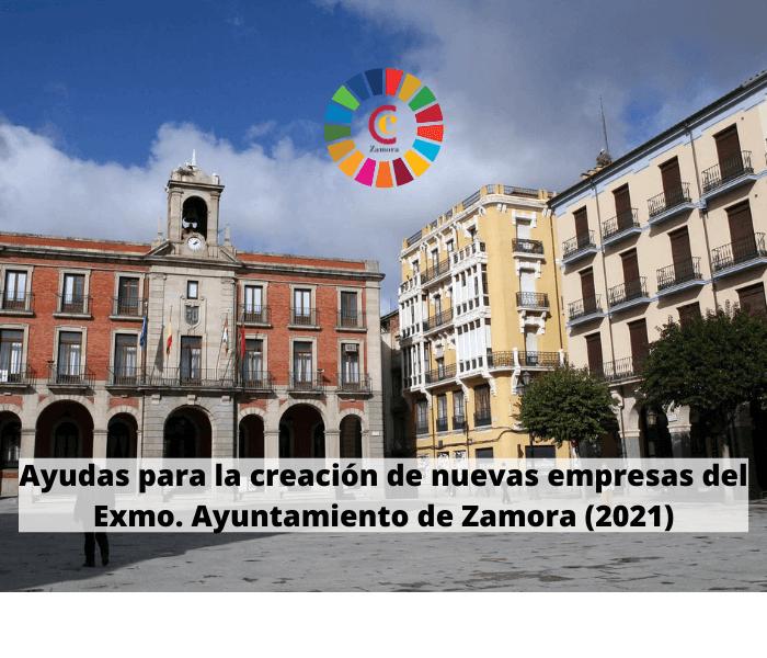 Ayudas para la creación de nuevas empresas del Exmo. Ayuntamiento de Zamora (2021)