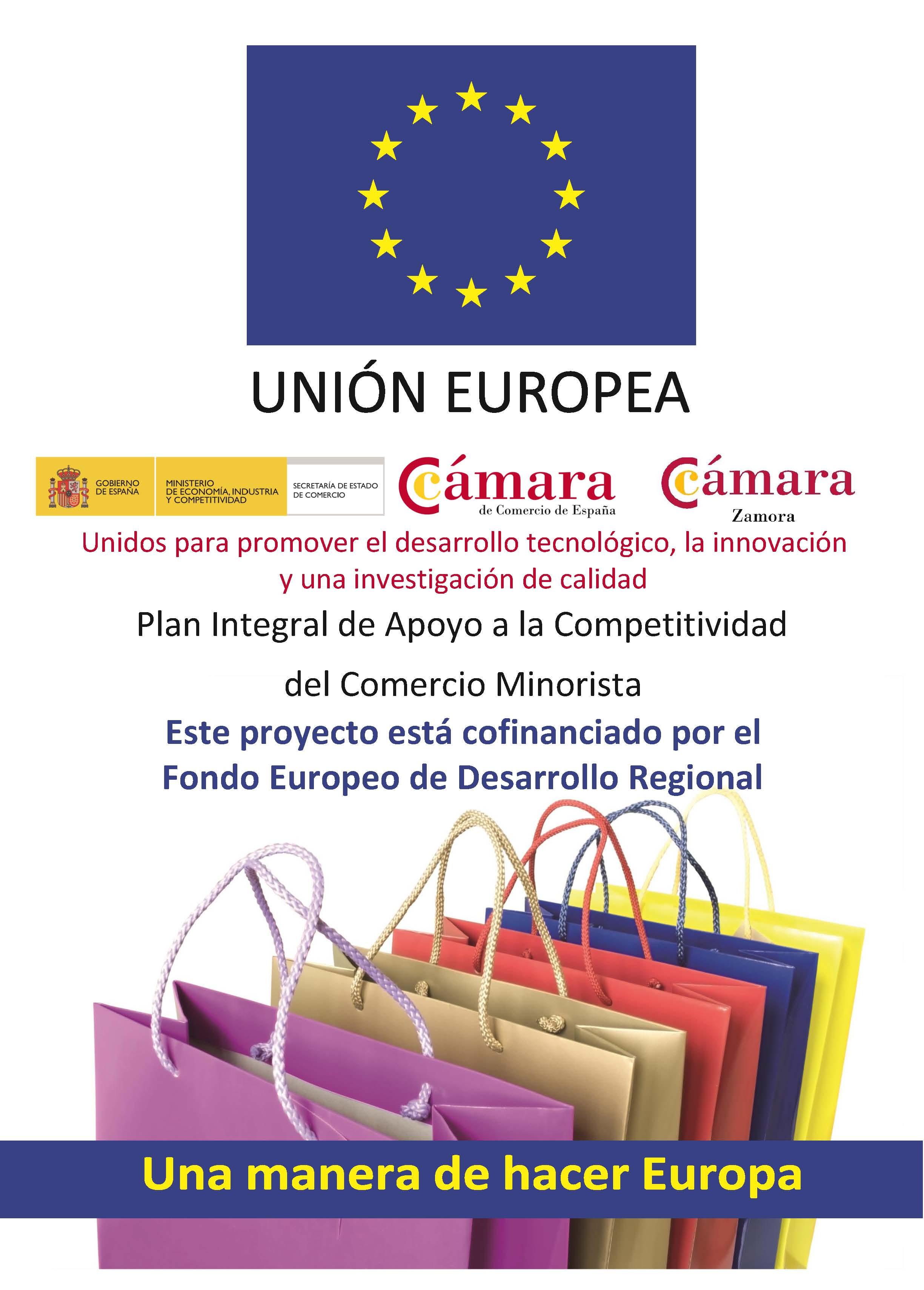 Plan Integral de Apoyo al Comercio Minorista Cámara Zamora