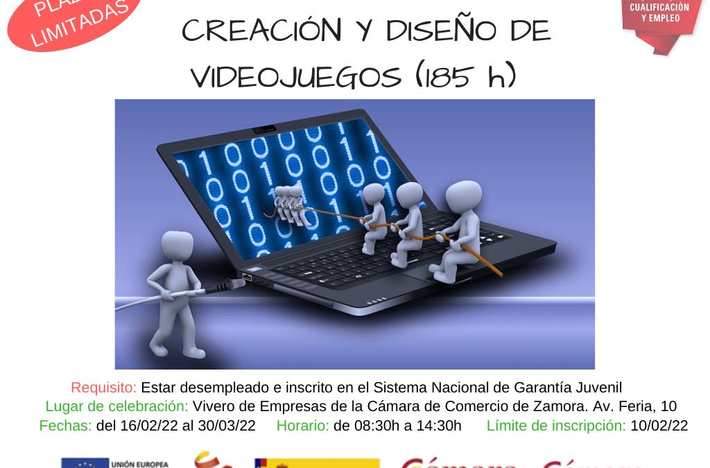 Curso PICE Gratuito «Creación y Diseño Videojuegos»