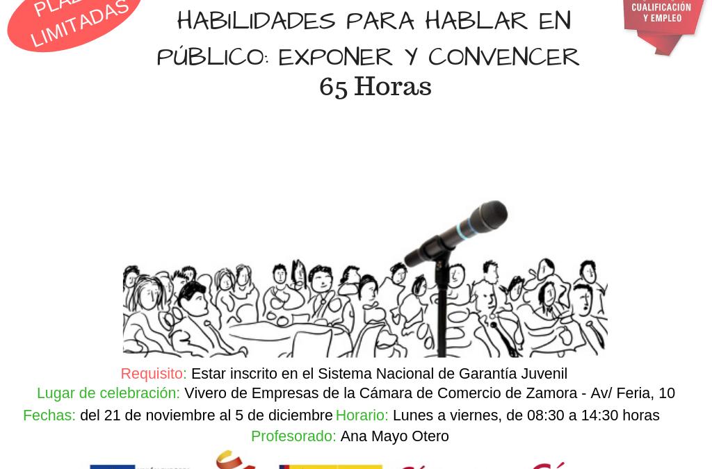 Curso Gratuito Habilidades para Hablar en Público: Exponer y Convencer