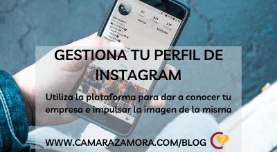 Aprende a gestionar tu perfil de Instagram