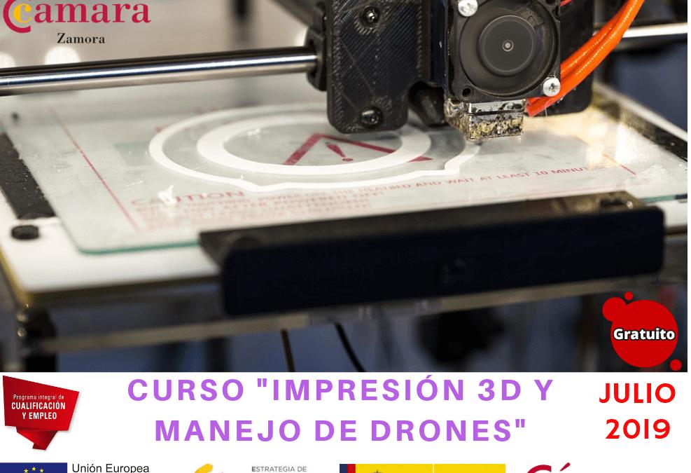 """Curso Gratuito """"Impresión 3D y Manejo de Drones"""""""