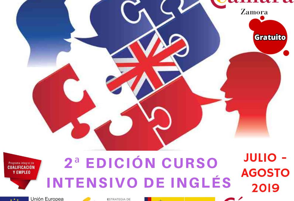 2ª Edición Curso Gratuito Intensivo de Inglés