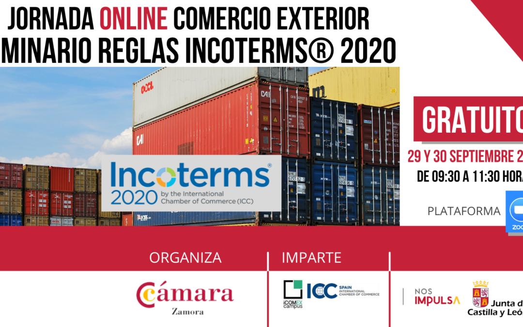 Seminario Online Gratuito Reglas Incoterms 2020