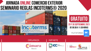 JORNADA ONLINE Incoterms 2020 Zamora