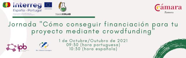 Jornada Formativa Online «Cómo conseguir financiación para tu proyecto mediante crowdfunding»