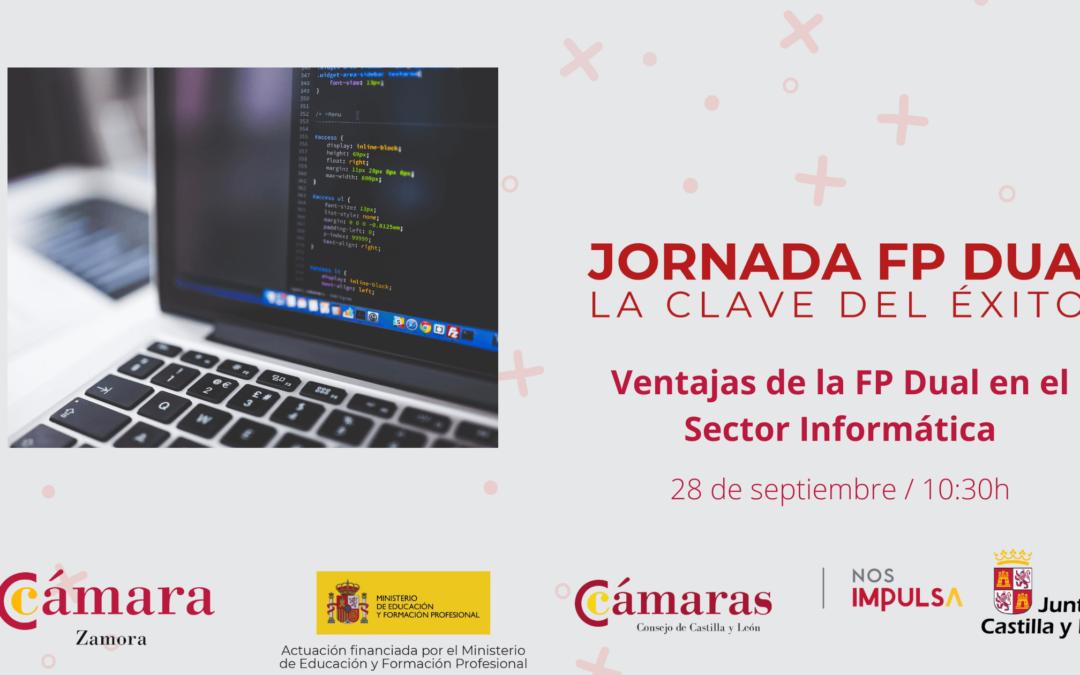 Jornada Online «Ventajas de la FP Dual en el Sector Informática»