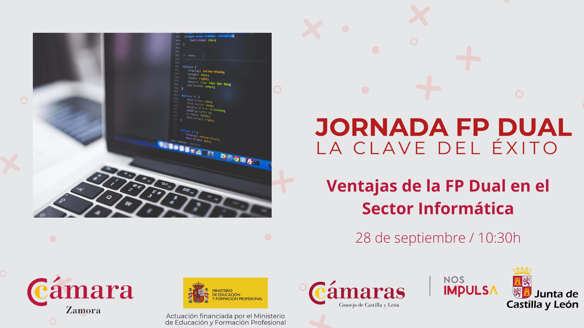 """Jornada Online """"Ventajas de la FP Dual en el Sector Informática"""""""