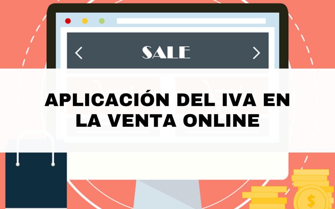 Aplicación del IVA en la venta online