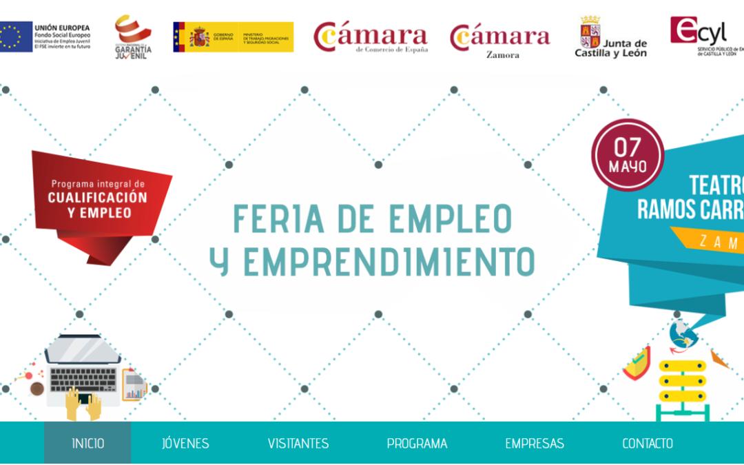 IV Feria de Empleo y Emprendimiento #Zamoraemplea