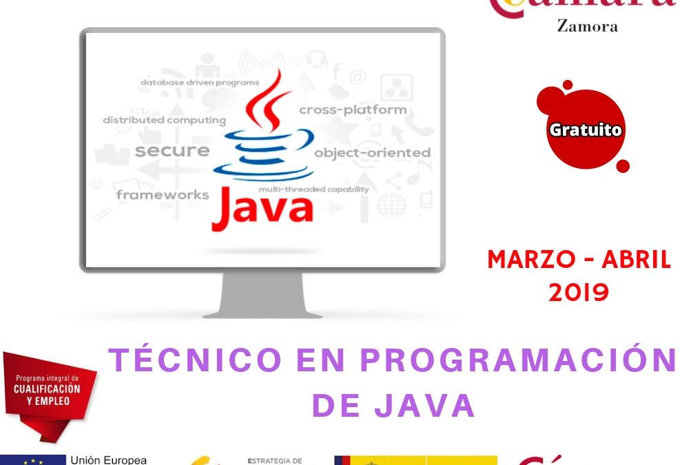 """Curso Gratuito """"Técnico en Programación de Java"""""""