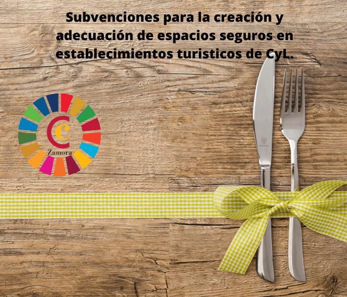 Subvenciones para la creación y adecuación de espacios seguros en establecimientos turísticos de Castilla y León