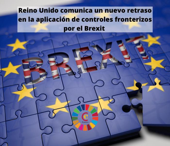 Reino Unido comunica un nuevo retraso en la aplicación de controles fronterizos por el Brexit