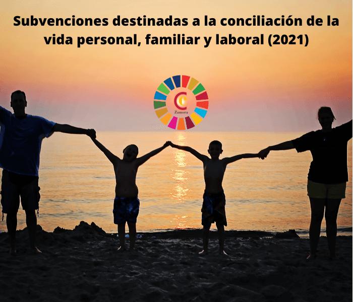 Subvenciones destinadas a la conciliación de la vida personal, familiar y laboral (2021)