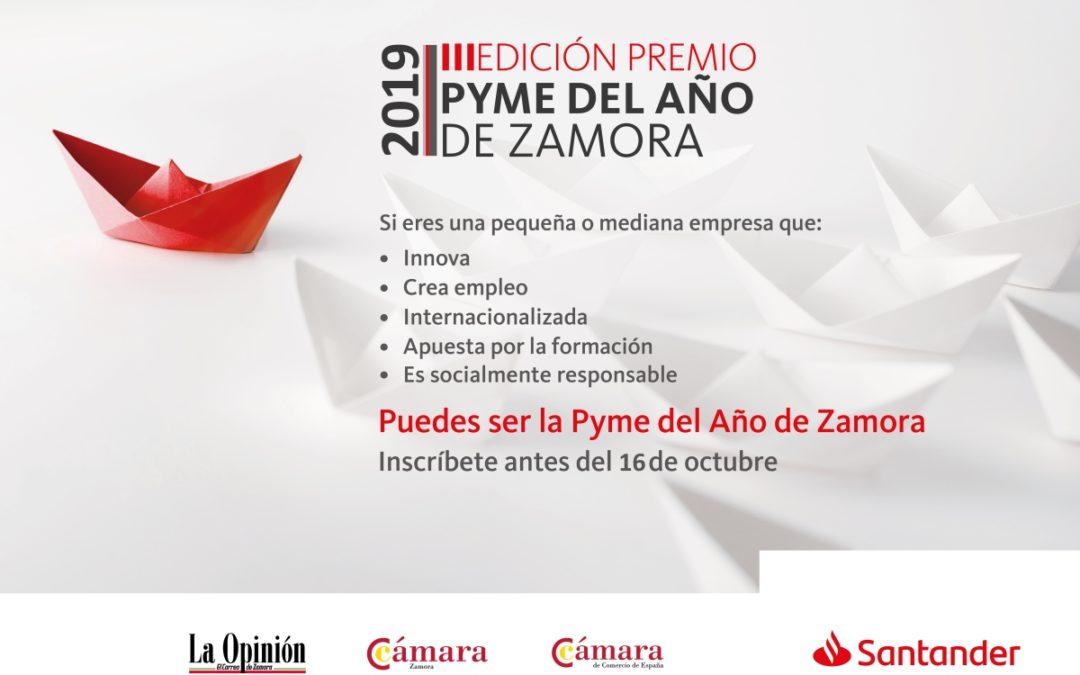 Premio Pyme del año 2019 Cámara Zamora