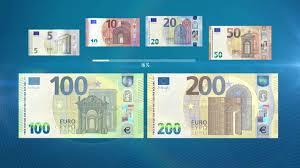 Nuevos billetes de 100€ y 200€ en circulación a partir del 28/05/2019