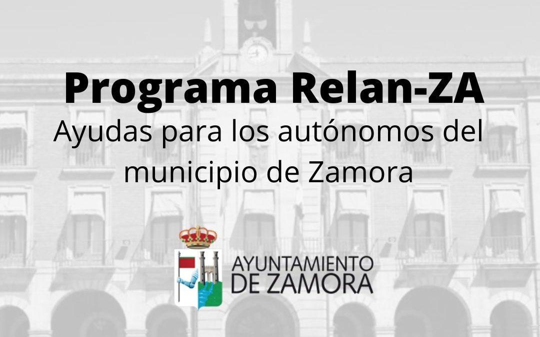 Programa RelanZA: Ayudas para los autónomos del municipio de Zamora