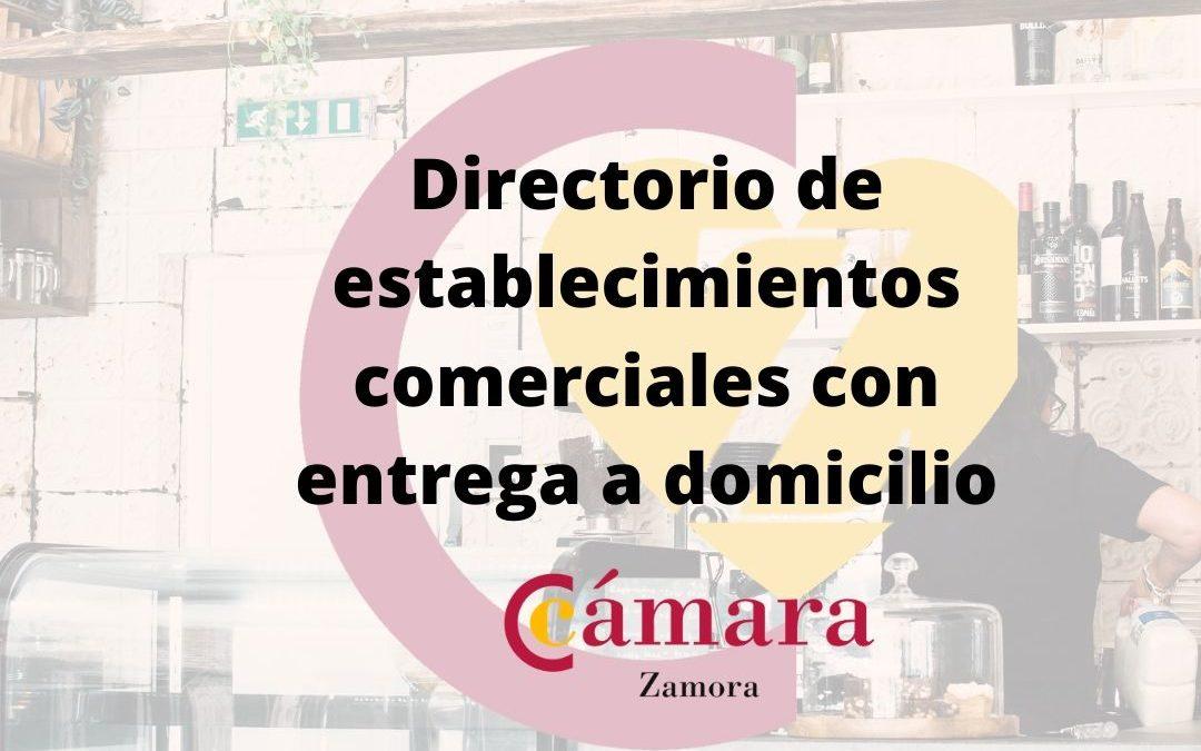 Directorio de comercios con entrega a domicilio en Zamora
